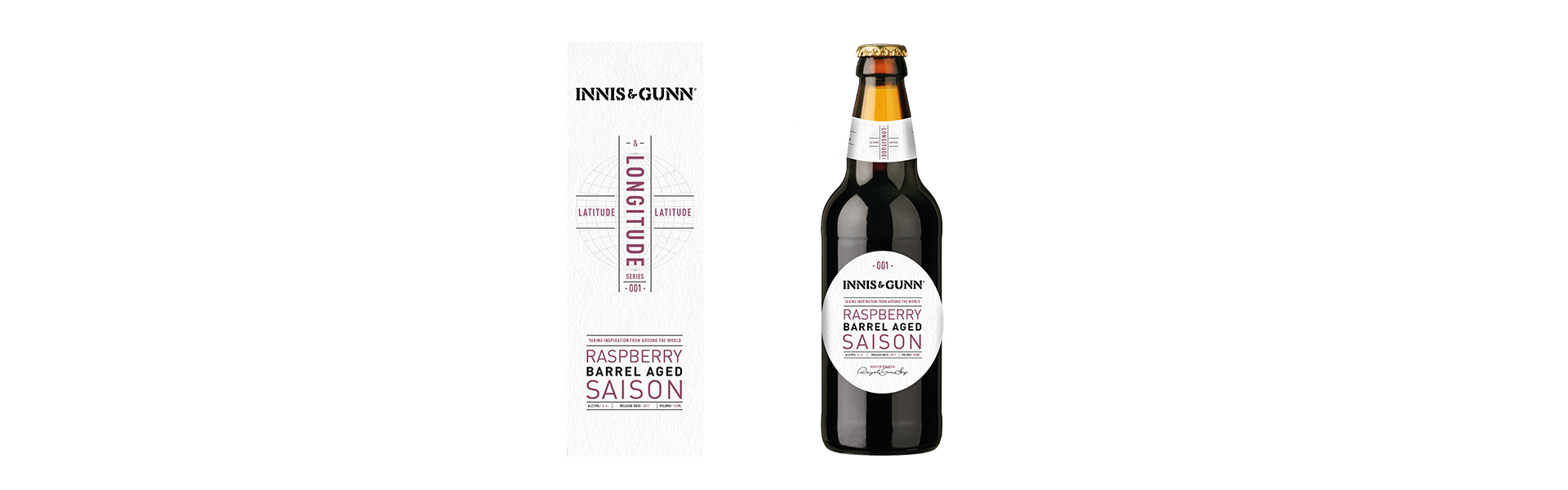 Innis & Gunn släpper ekfatslagrad saison med smak av hallon.