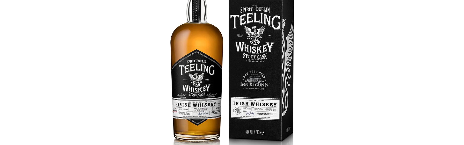 Teeling släpper Innis & Gunn-lagrad whiskey exklusivt på Systembolaget 6 oktober.