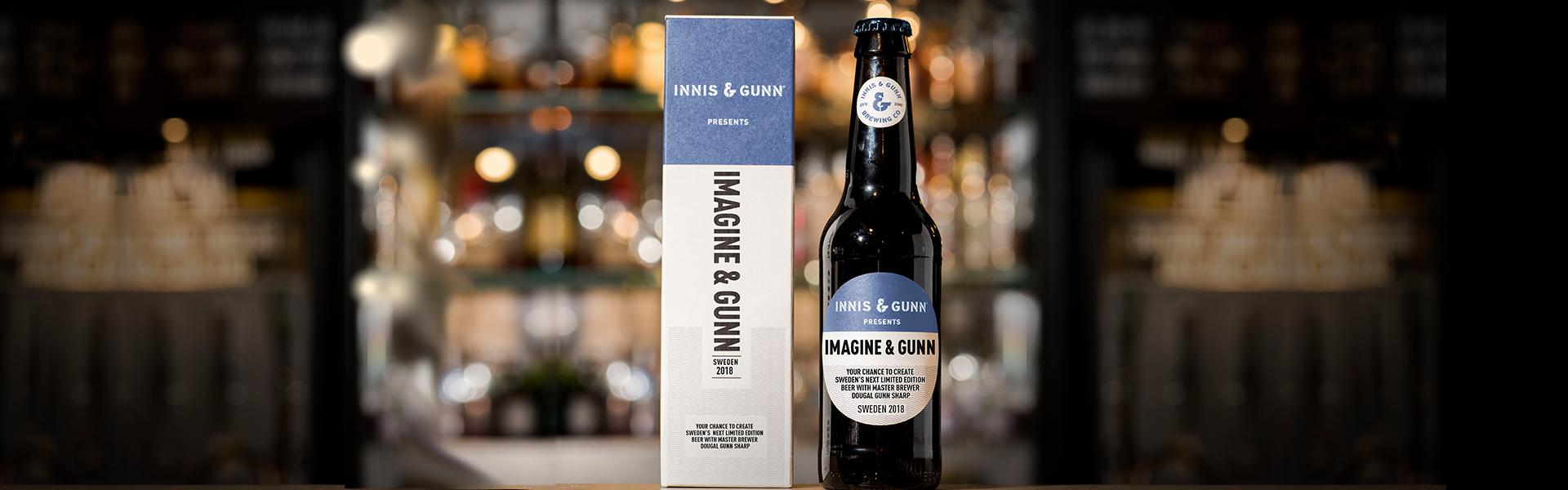 Imagine & Gunn – var med och ta fram nästa limited edition från Innis & Gunn.