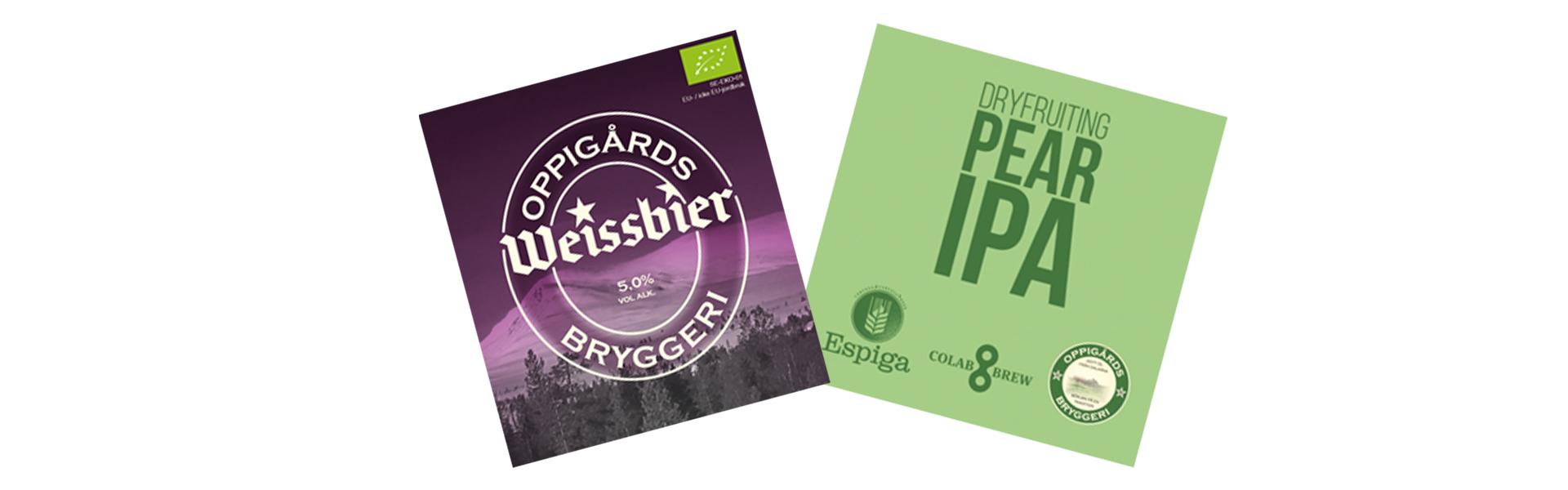 Två nyheter från Oppigårds Bryggeri
