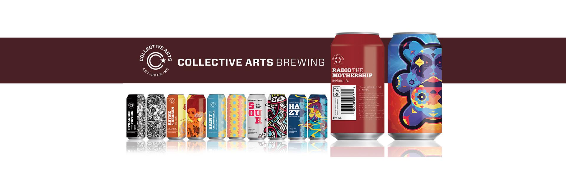 Collective Arts Brewing – konstnärligt craftbryggeri från Kanada nu äntligen i Sverige