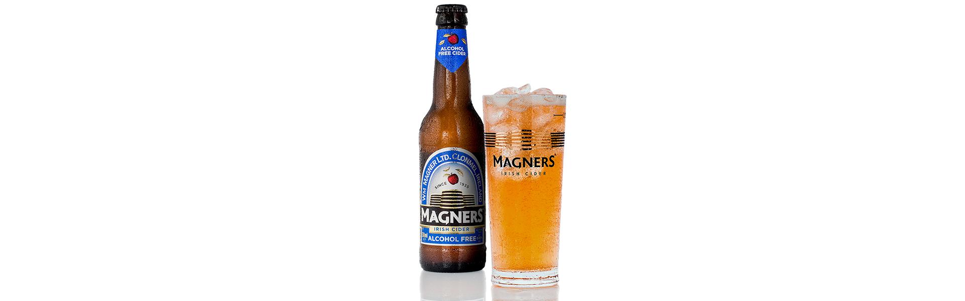 Magners Alcohol Free Irish Cider släpps på alla Systembolagsbutiker 1 juni