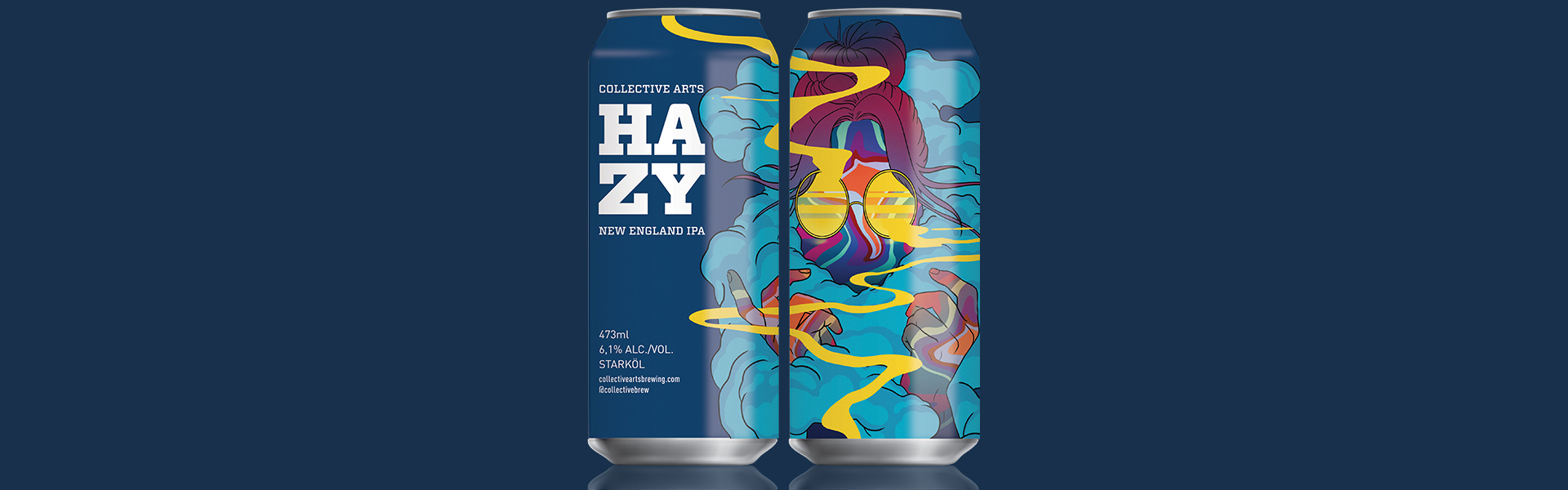 Tillfälligt släpp på Systembolaget – Hazy New England IPA först ut när Collective Arts lanseras i Sverige.
