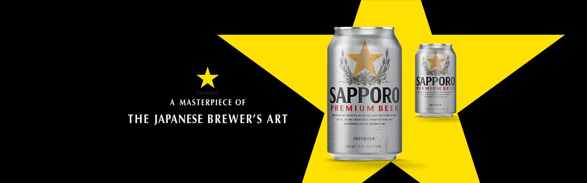 Sapporo Premium Lager – legendarisk japansk öl släpps i systembolagets fasta sortiment.