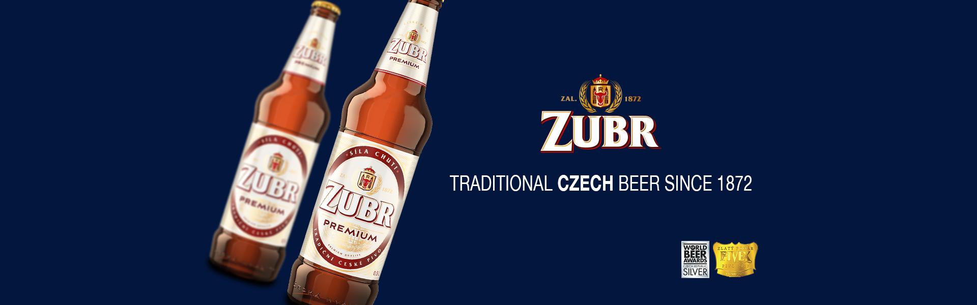 ZUBR Premium – Prisbelönt tjeck med traditioner lanseras på Systembolaget