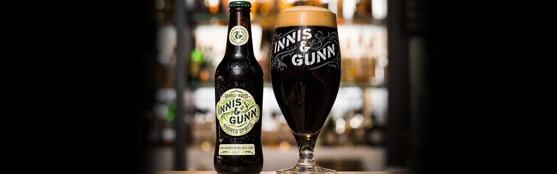 För åttonde året i rad – Innis & Gunn Barrel Aged Irish Whiskey Stout.