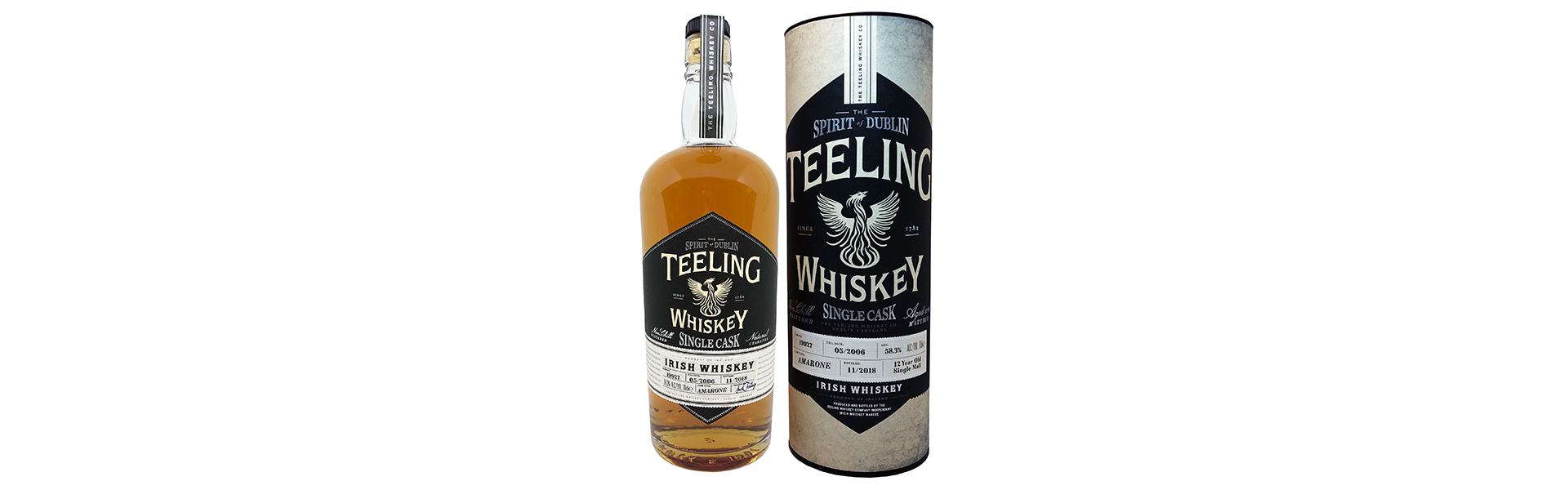 Teeling Whiskey lanserar unik 12-årig Amarone Cask på Systembolaget.