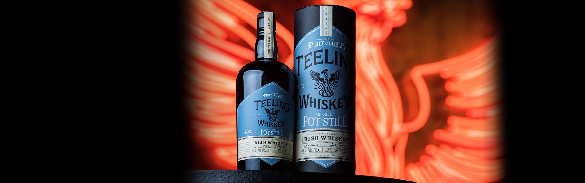 Teeling lanserar den första Pot Still-whiskeyn från Dublin på nästan 50 år!