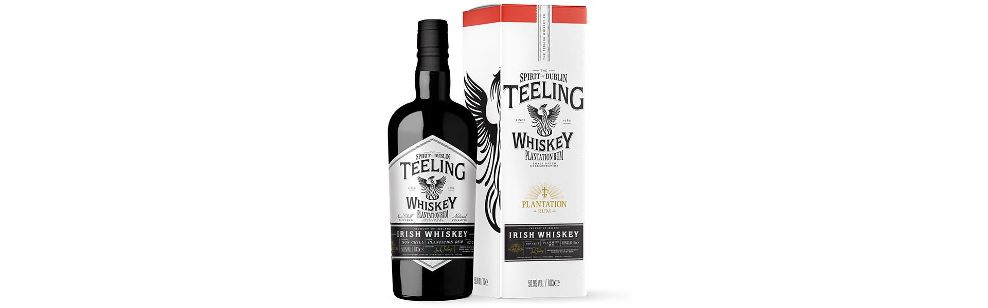 Unikt samarbete mellan trendiga Teeling Irish Whiskey och svenskfavoriten Rum Plantation