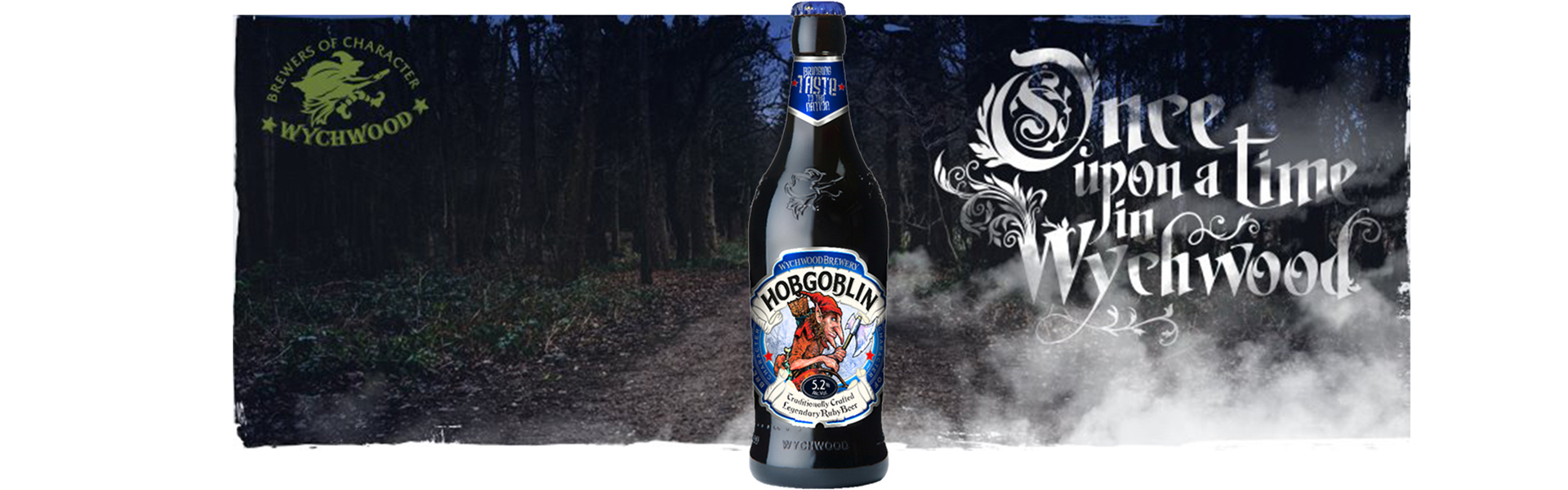 Once upon a time in Wychwood… Hobgoblin hemsöker Systembolaget 2 september.