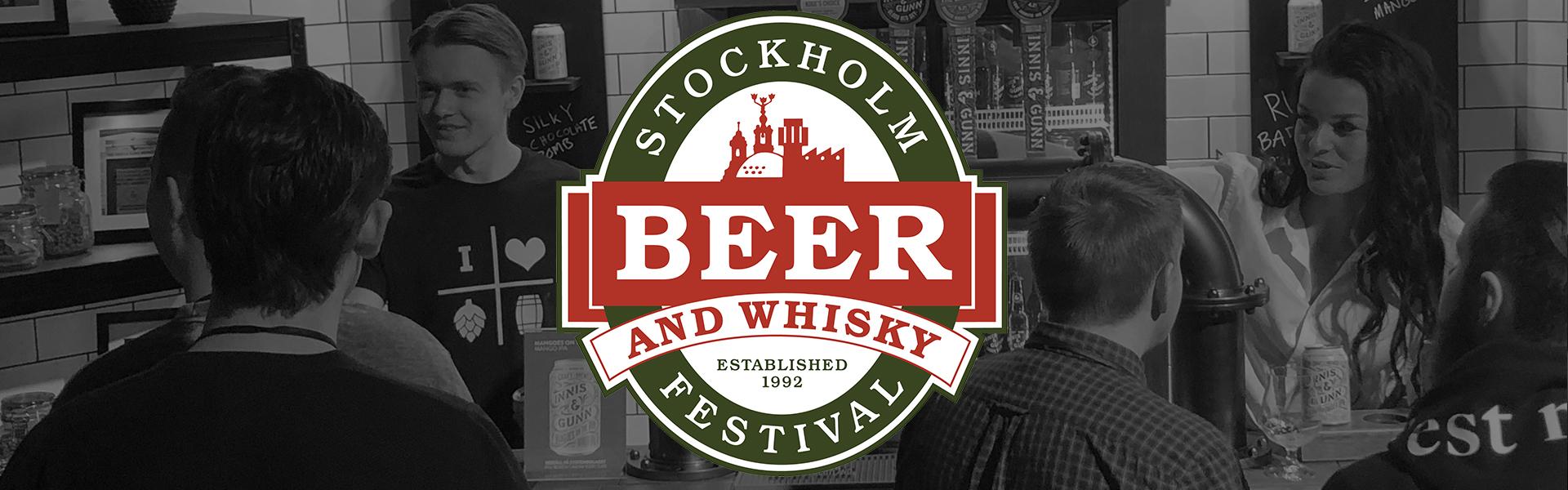TOMP på Stockholm Beer & Whisky Festival