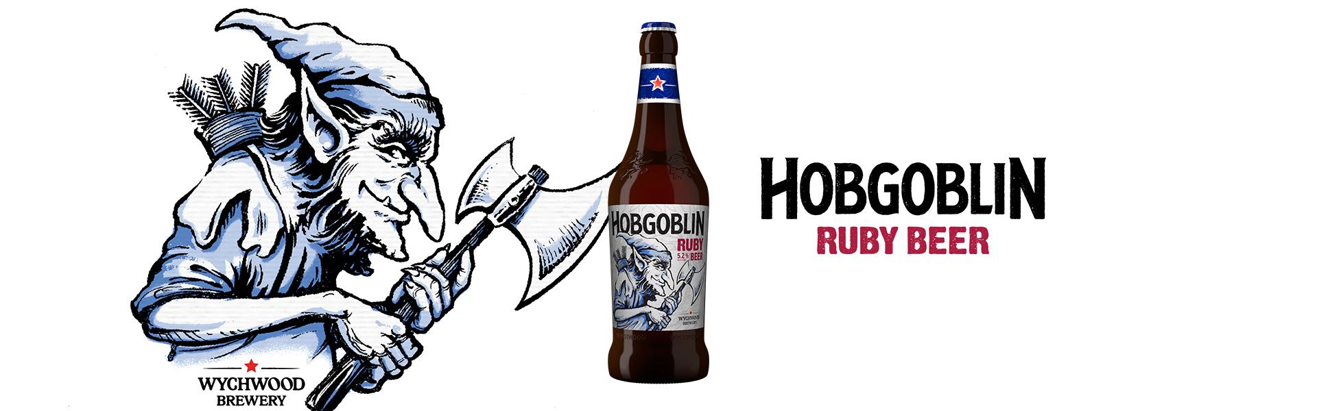 Klassiska Hobgoblin Ruby Beer byter skepnad.