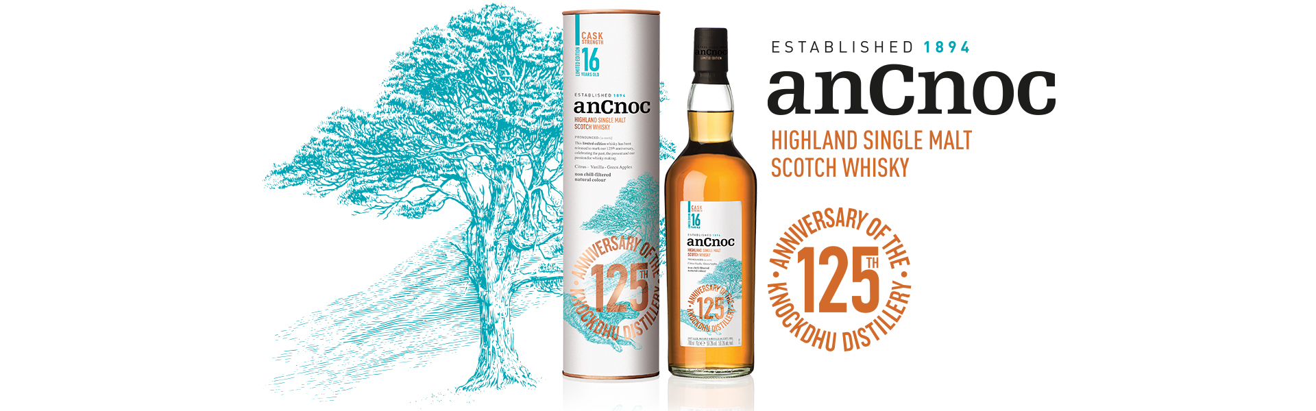anCnoc 16 YO Limited Edition – En renässans inom Single Malt Whisky