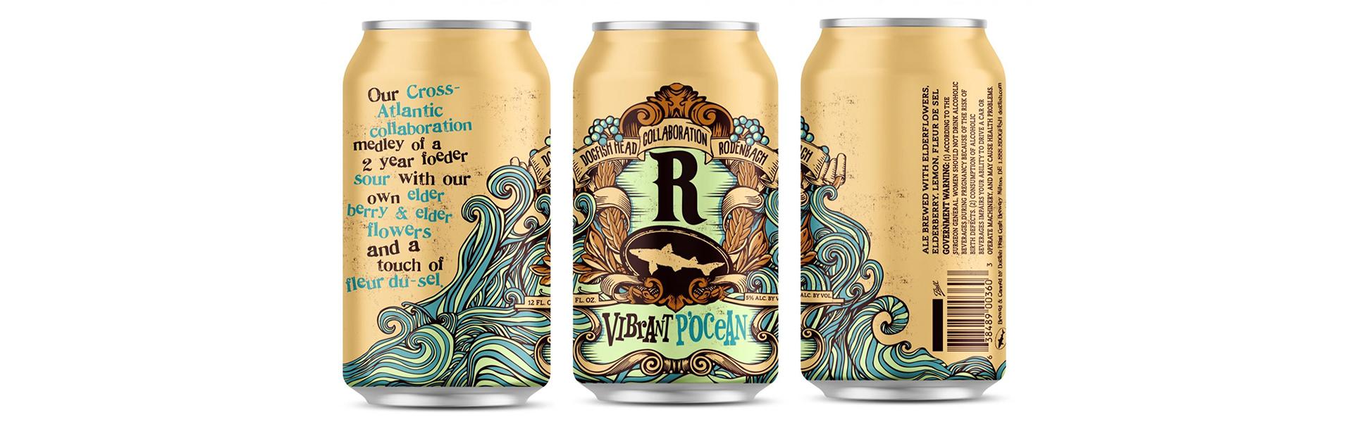 Legendariska Rodenbach i suröls-samarbete med Dogfish Head Brewery från USA.