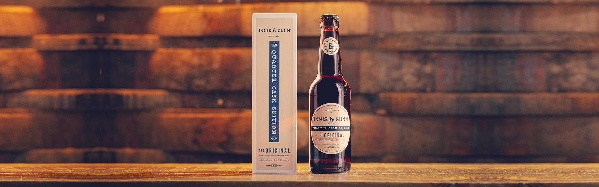 Innis & Gunn lanserar limiterad ale lagrad på unika quarter casks