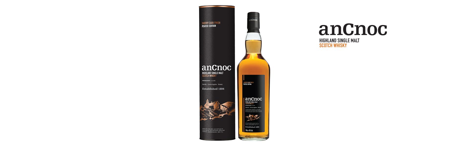 anCnoc släpper unik whisky med sherrytoner och distinkt rökighet – exklusivt för Sverige!