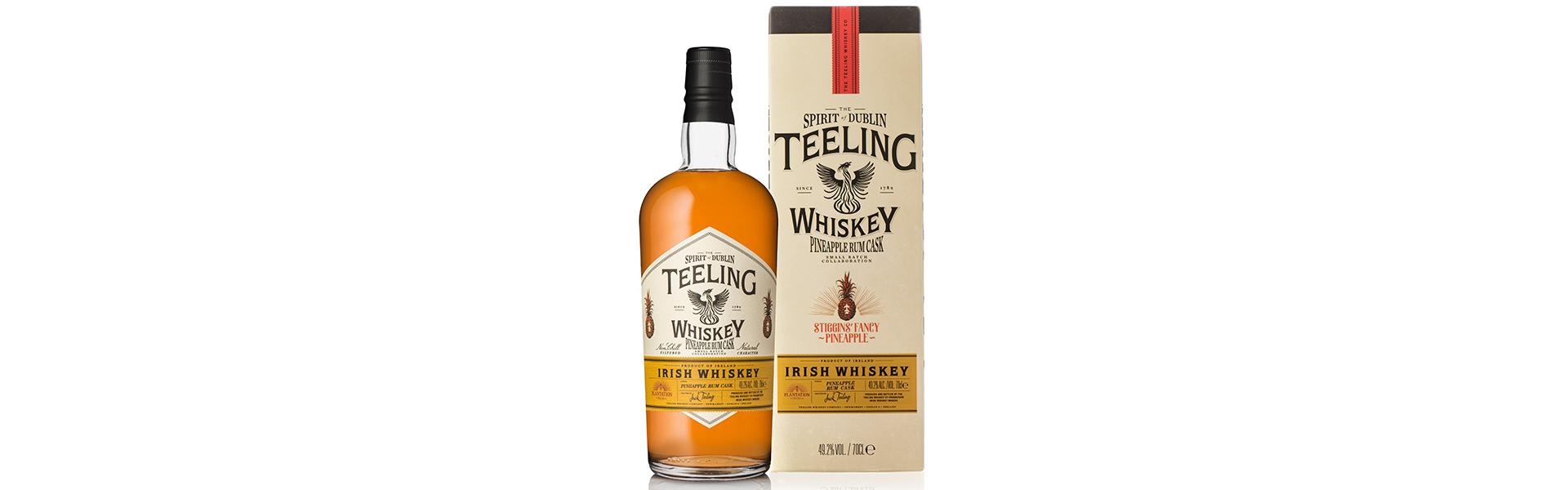 Teeling Whiskey i unikt samarbete med Plantation – Stiggin's Fancy Pineapple Rum Cask.