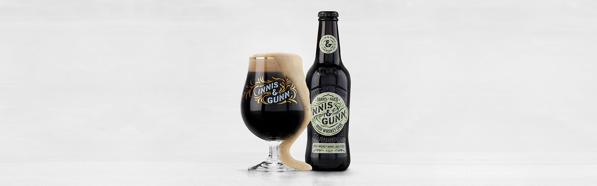 Innis & Gunn's omåttligt populära Irish whiskey cask stout är tillbaka i april!