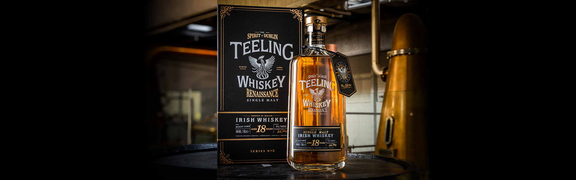 Teeling Renaissance Series 3 Single Malt Whiskey Muscat Cask 18 Years Old