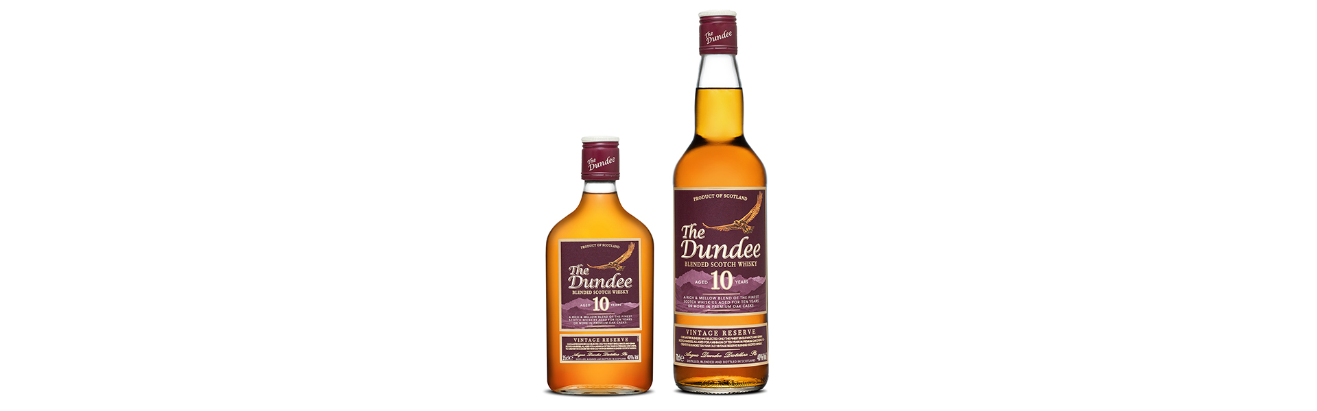 The Dundee Blended Scotch Whisky släpper dubbellansering.